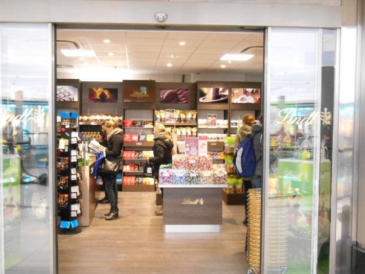 Lindt chocolade in Keulen ©pascale hans