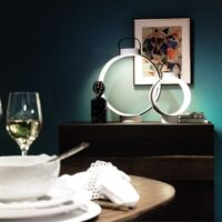 Rosenthal met Nightingale lamp