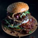 Bacon Bomber Burger